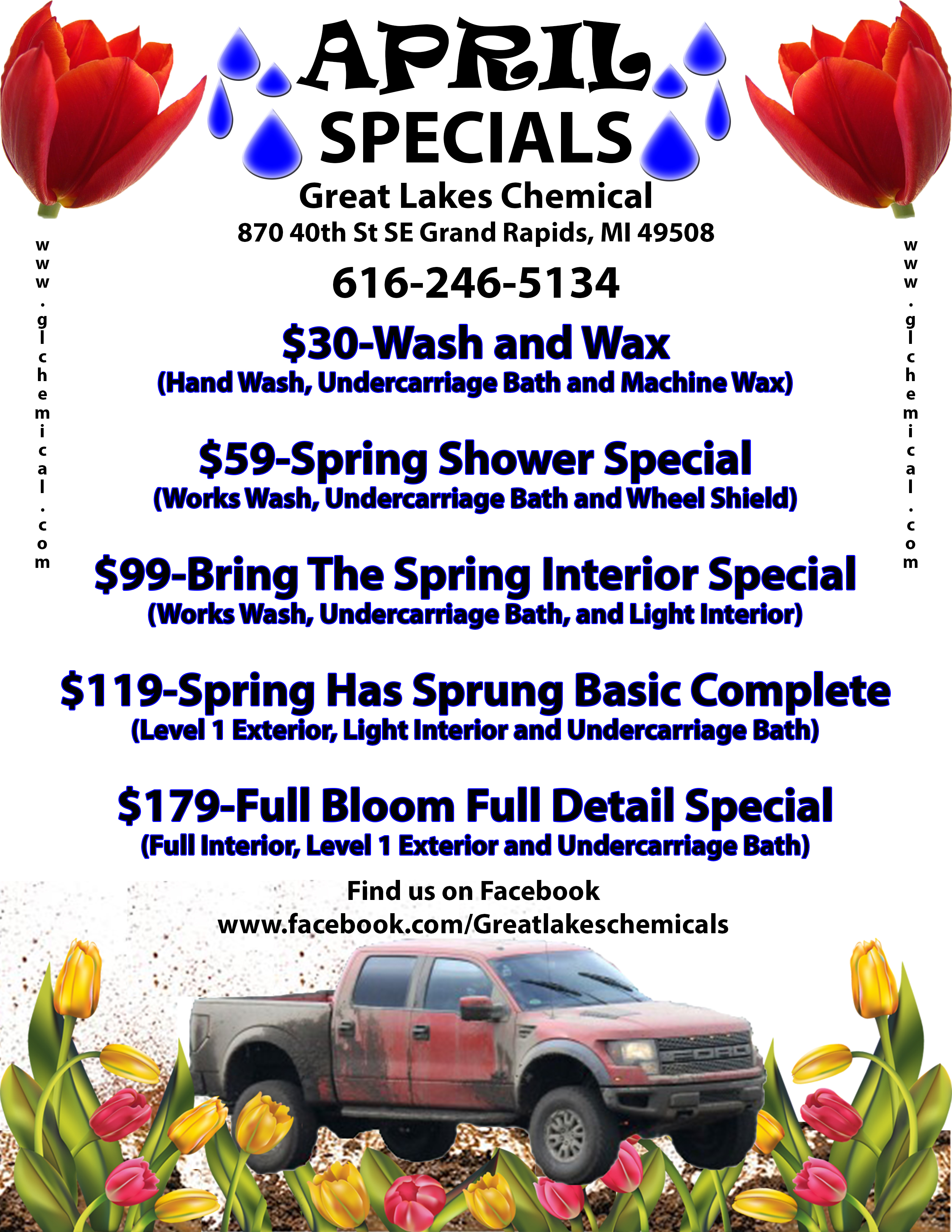 April GR 2014 - Great Lakes Chemical Auto Appearance Specialists