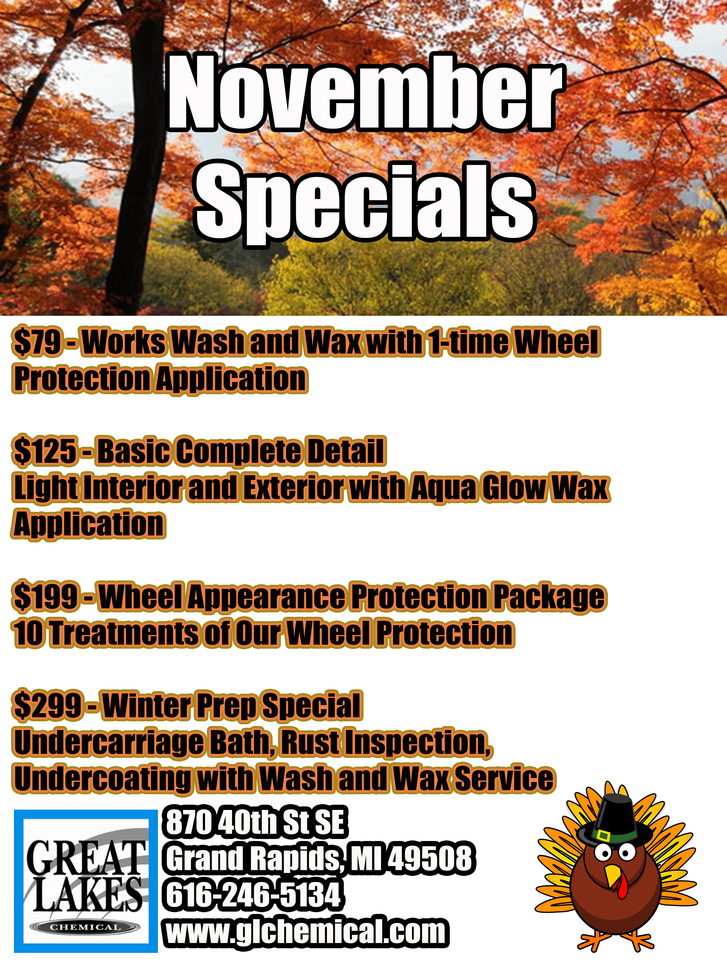 nov15special - Great Lakes Chemical Auto Appearance Specialists ...